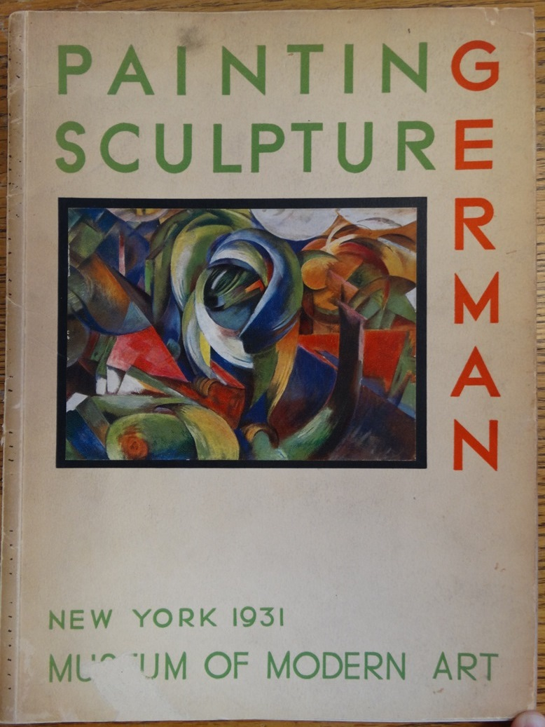 German Painting and Sculpture by Museum of Modern Art on Mullen Books