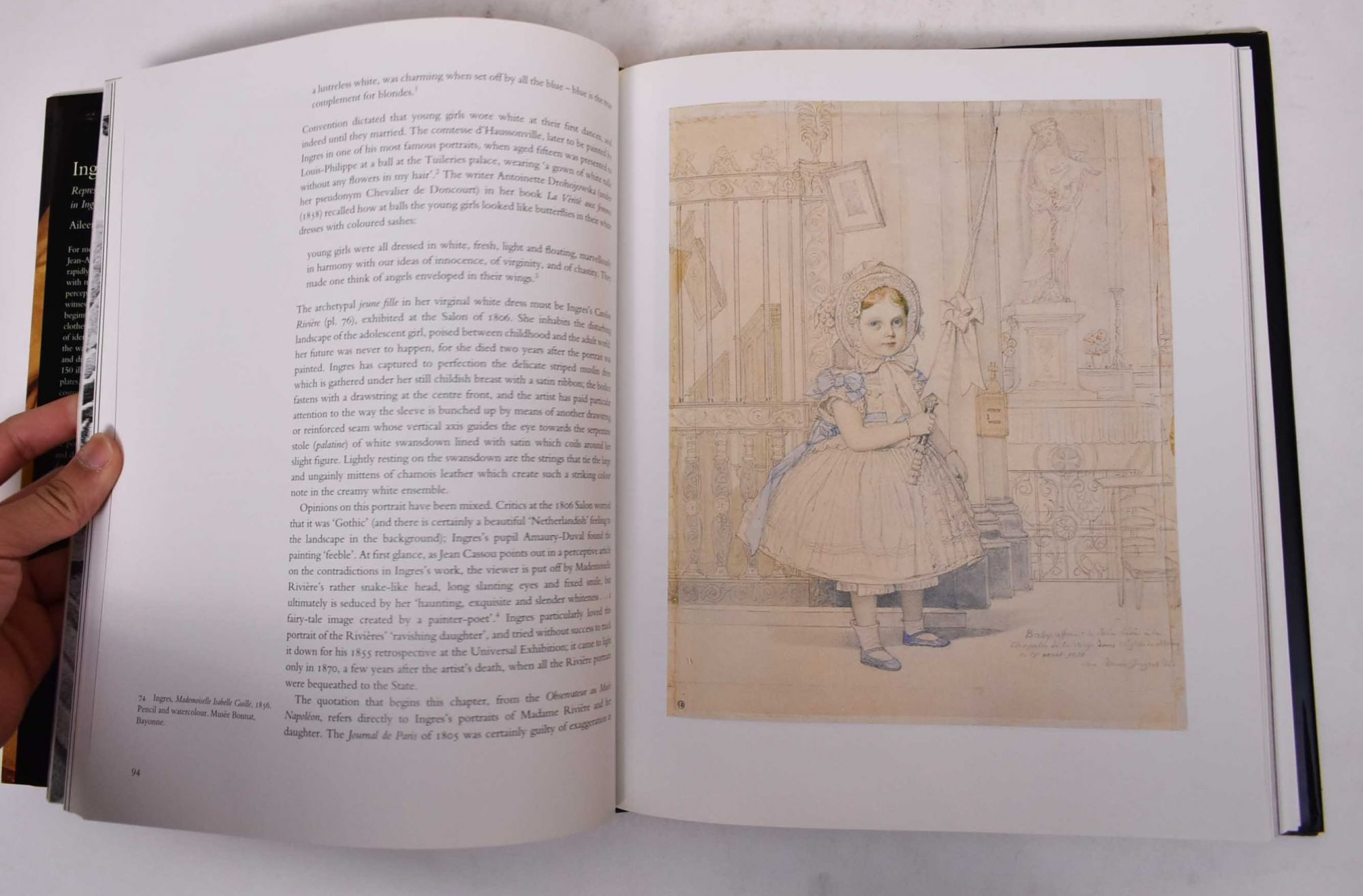 Representations of Dress and Appearance in Ingres`s Images of Women Ingres in Fashion