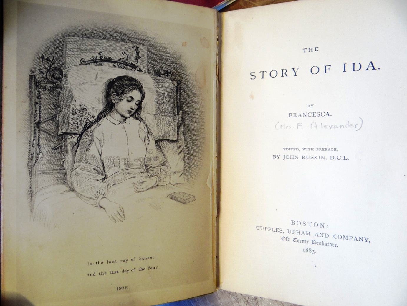 Image result for francesca drawing of story of ida