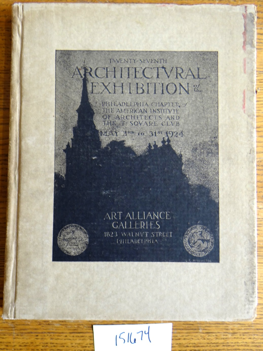 - The Year Book of the Twenty Seventh Annual Architectural Exhibition, 1924