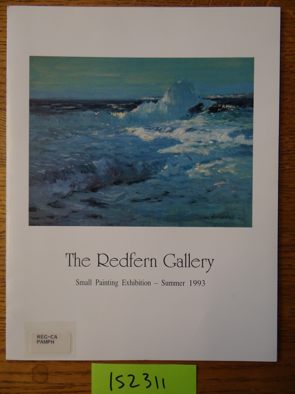 - The Redfern Gallery: Small Painting Exhibition - Summer 1993