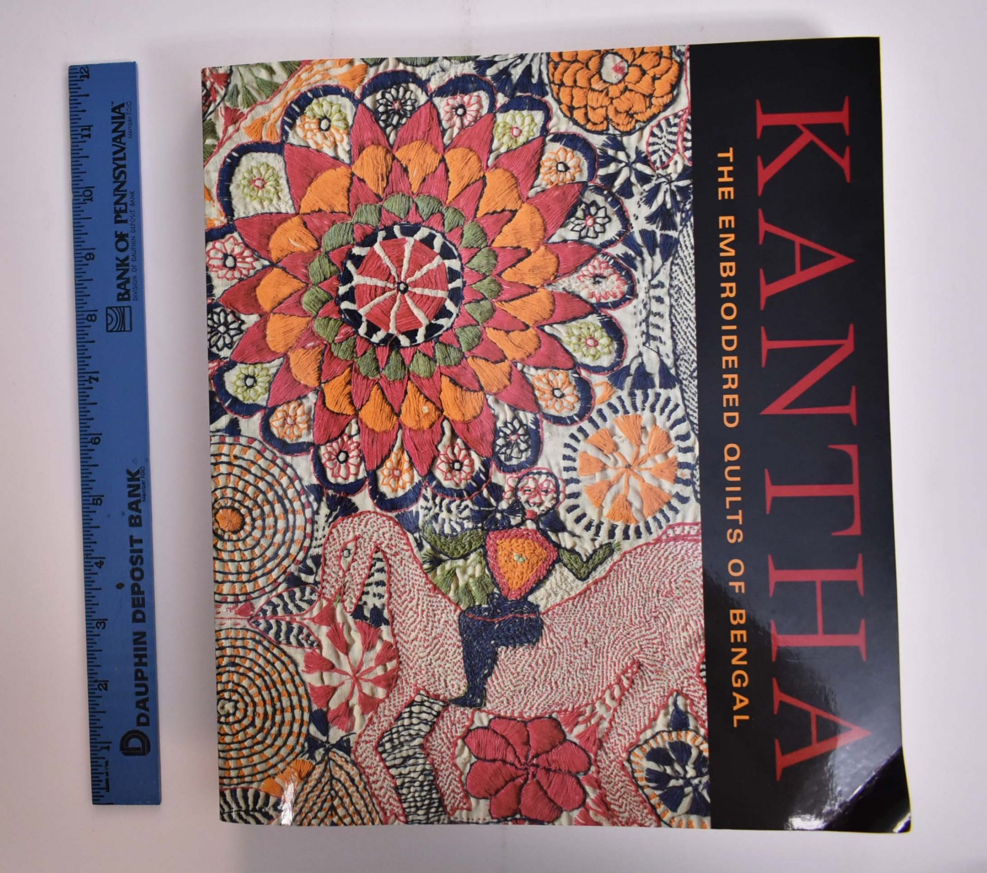 Kantha The Embroidered Quilts Of Bengal Darielle Mason Pika Ghosh