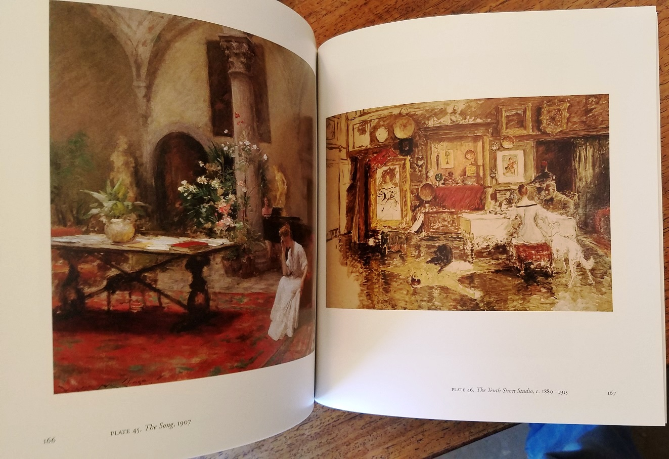 Charmant Chase Inside And Out: The Aesthetic Interiors Of William Merritt Chase