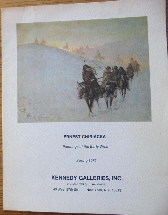 - Ernest Chiriacka: Paintings of the Early West