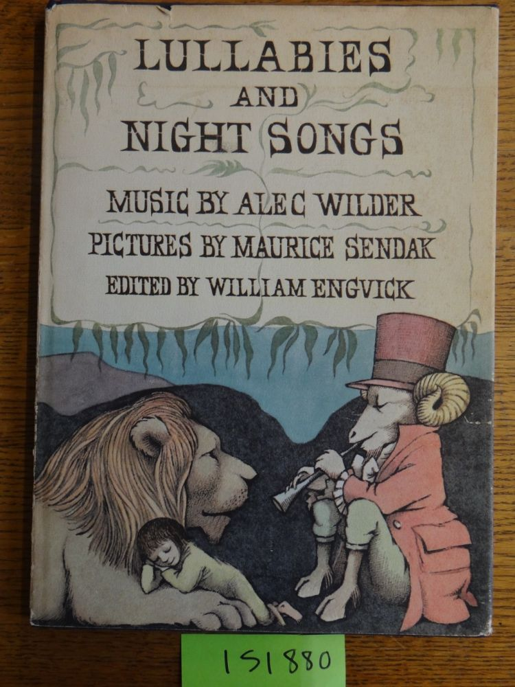 Lullabies and Night Songs. William Engvick.