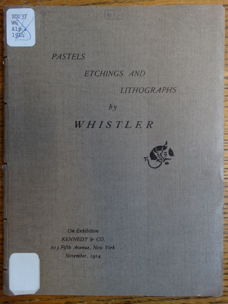 Pastels, Etchings and Lithographs by Whistler