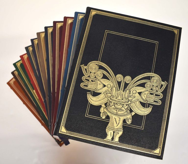 The Metropolitan Museum of Art at Home (12-volume set, Franklin Library bindings). John P. O'Neill, in chief.