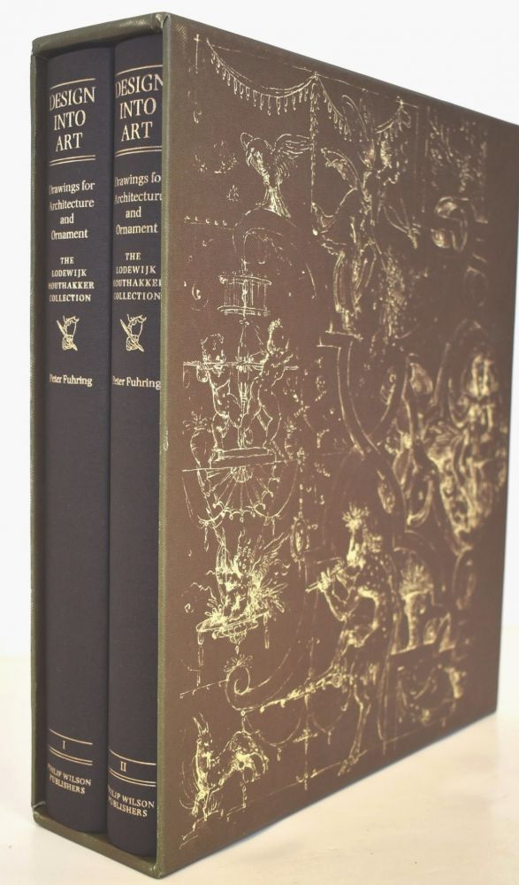Design into Art. Drawings for Architecture and Ornament. The Lodewijk Houthakker Collection (2-volume set). Peter Fuhring.