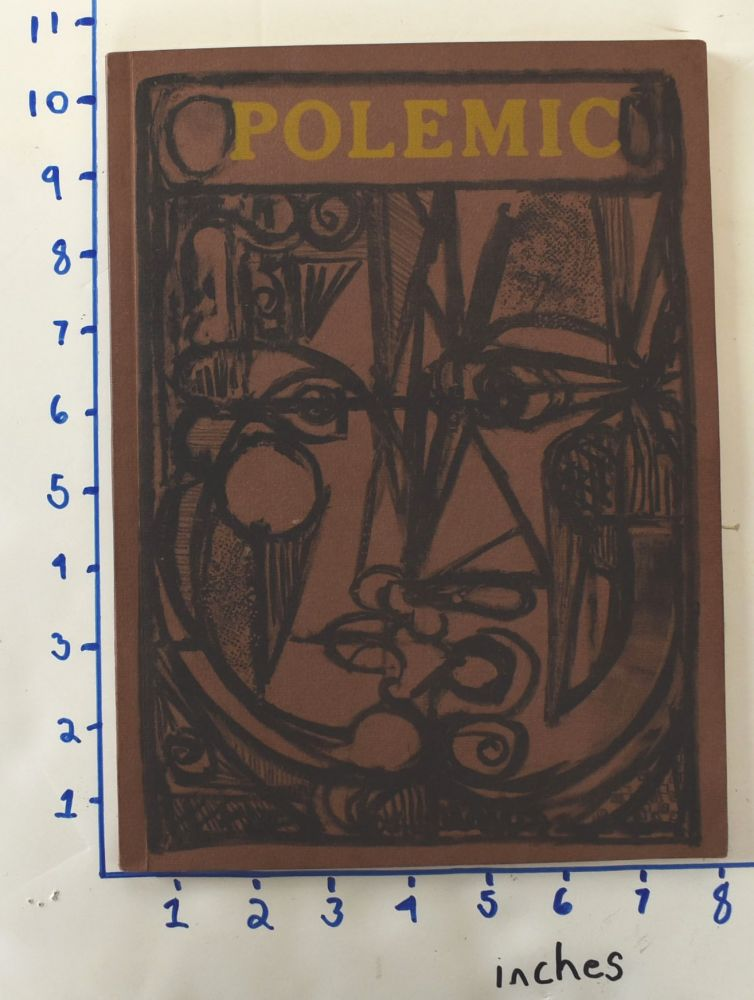 Polemic [Volume II, Number I : Spring 1957] : [Original woodcut by Roy Lichtenstein]. George Skillman.