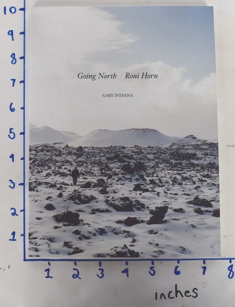 Going North : Roni Horn (one volume only). Gary Indiana.