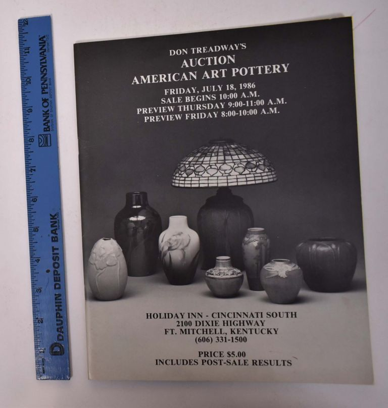 Don Treadway's Auction American Art Pottery. Don Treadway's.
