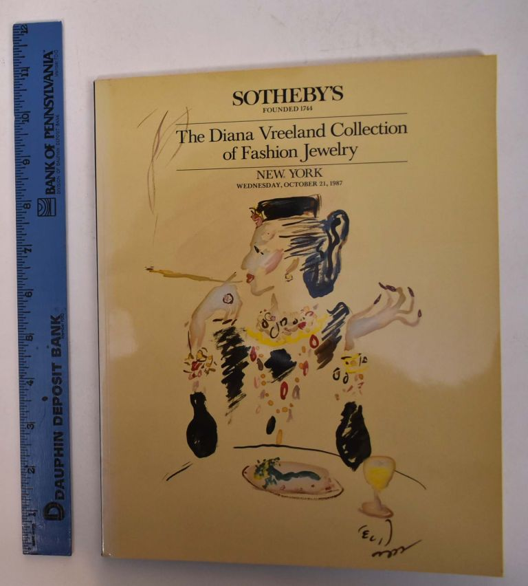 The Diana Vreeland Collection of Fashion Jewelry. Sotheby's.