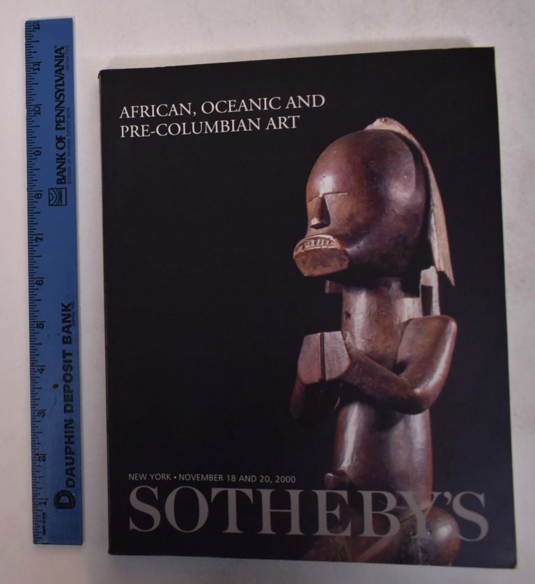 African, Oceanic and Pre-Columbian Art. Sotheby's.