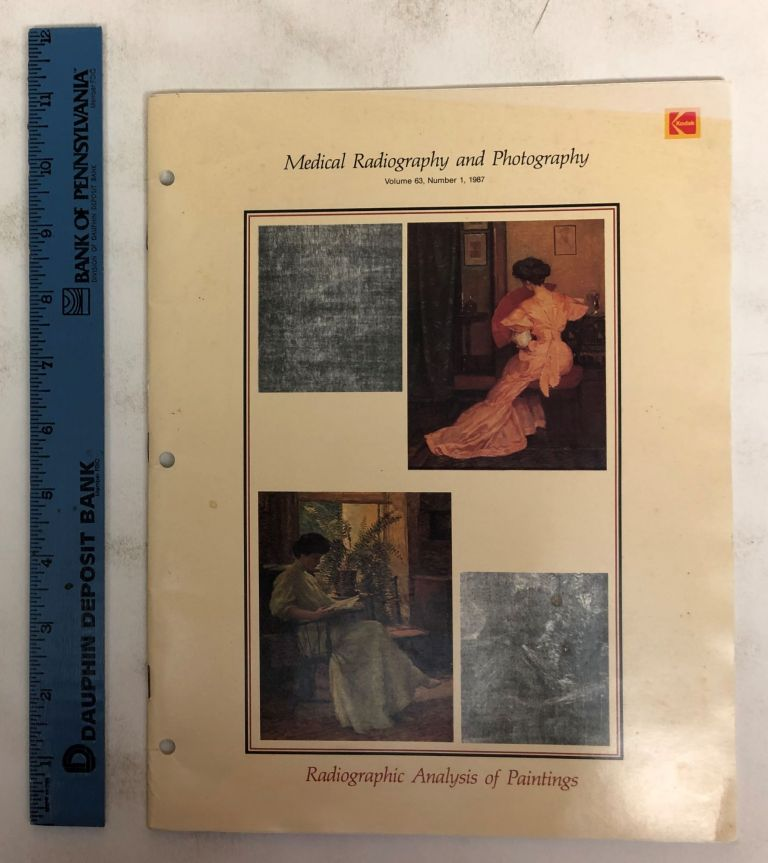 Medical Radiography and Photography: Radiographic Analysis of Paintings, Volume 63, Number 1. A. Everette James, Theodore H. M. Falke, S. Julian Gibbs.