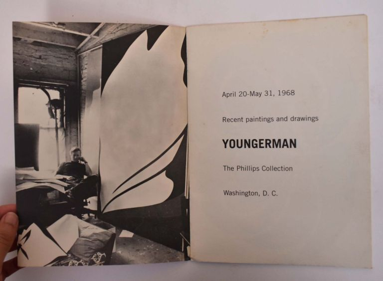 Youngerman: April 20-May 31, 1968, Recent Paintings and Drawings, The Phillips Collection, Washington, D.C. Jack Youngerman, Marjorie Phillips, Dale McConathy.