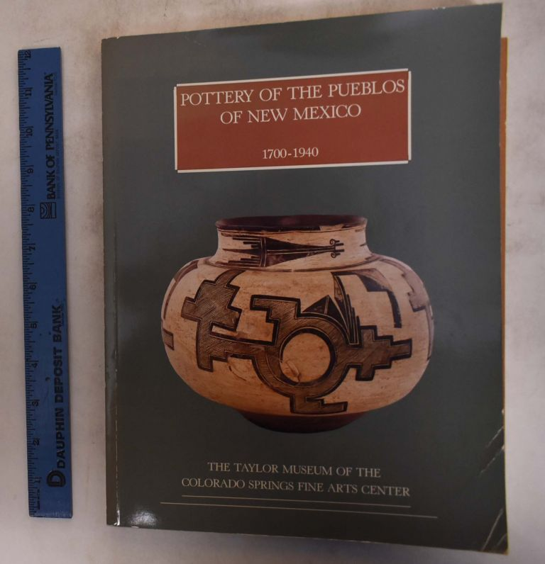 Pottery of the Pueblos of New Mexico. Jonathan Batkin.