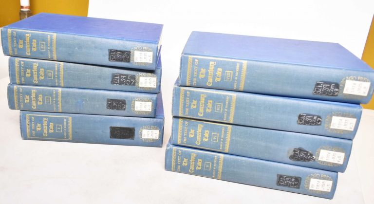 The text of the Canterbury tales, Studied on the basis of all known manuscripts (8 volumes). John Matthews Manly, Edith Rickert, Mabel Dean, Helen Mcintosh, Margaret Josephine Rickert, Geoffrey Chaucer.