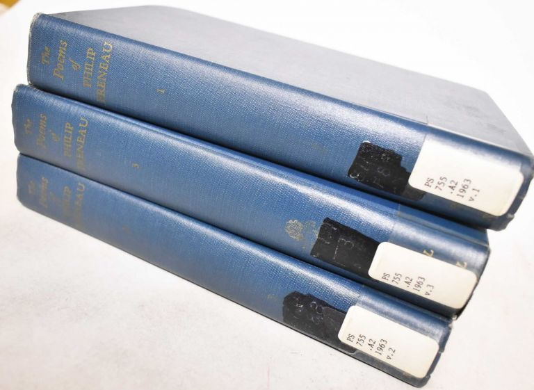 The poems of Philip Freneau, Poet of the American Revolution (3 Volumes). Philip Morin Freneau, Fred Lewis Pattee.