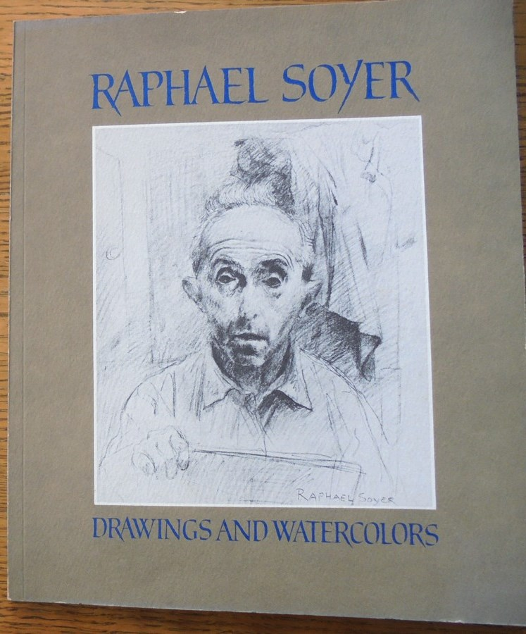 Raphael Soyer: Drawings and Watercolors. Janet A. Flint.