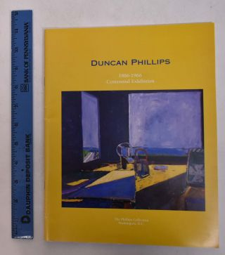 Duncan Phillips Centennial Exhibition, June 14 - August 31, 1986. Eliza E. Rathbone, curator