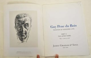Guy Pène Du Bois: Painter of Modern Life. Part II: The Later Years
