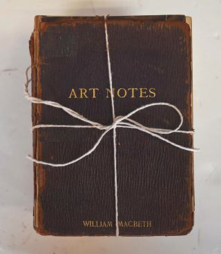 Art Notes Bound issues 1-85 complete. Macbeth Gallery, William Macbeth