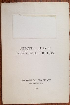 Abbott H. Thayer Memorial Exhibition. Virgil Barker, Introduction