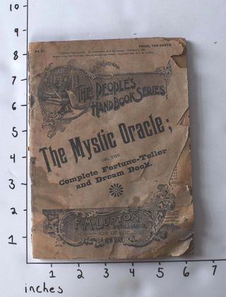 The Mystic Oracle; or, The Complete Fortune Teller and Dream Book (No. 21 of The People's...