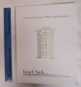 Celebrating Our 90th Anniversary. Inc Israel Sack