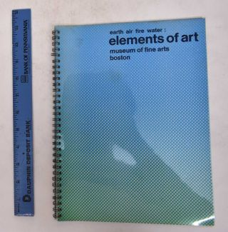 Earth Air Fire Water: Elements of Art (Two Volumes). David Antin