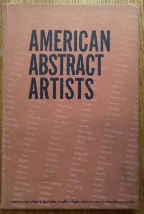 American Abstract Artists. George L. K. Morris, Introduction