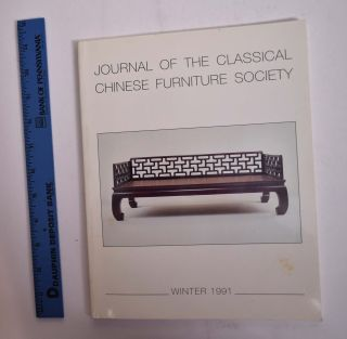 Journal of the Classical Chinese Furniture Society, Summer 1991 ( Volume 1, Number 3