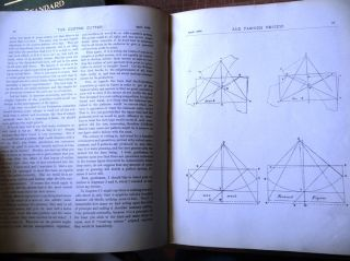 The Custom Cutter and Fashion Review. Issued monthly for technical and scientific information. (Vol III No 2 to No 7 and No 9 to No 12, bound together)