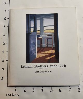 Lehman Brothers Kuhn Loeb, Incorporated, Art Collection. Janice Oresman, curator