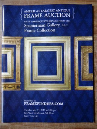 America's Largest Antique Frame Auction: Over 1,000 Exquisite Frames from the Spanierman Gallery,...