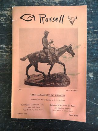 C. M. Russell Bronzes, From the C. S. McNair Collection