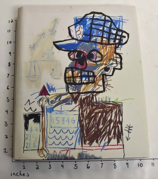 Jean-Michel Basquiat: Drawing: Work from the Schorr Family Collection. Fred Hoffman, curator