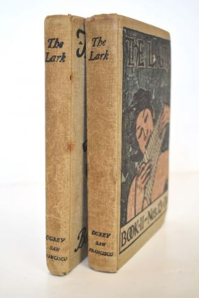 THE LARK (2 volumes, complete as issued). Gelett Burgess