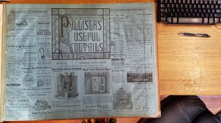Palliser's Useful Details, Vol. I, April 1881. Palliser