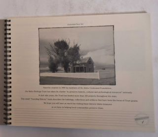 Traveling History Book: The Idaho Heritage Trust: Buildings, Collections, Artifacts