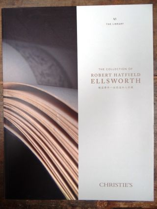 The Collection of Robert Hatfield Ellsworth Volume 6 ONLY The Library