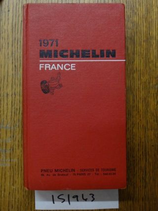 1971 Michelin France