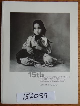 15th Annual Friends of Friends Photography Auction Benefiting Angkor Hospital for Children. Kenro...
