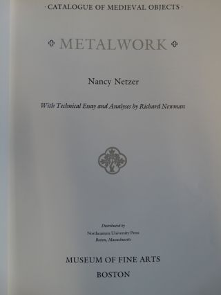 Metalwork (Catalogue of Medieval Objects)