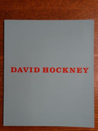 David Hockney: Some New Painting (and Photography). Martin Gayford