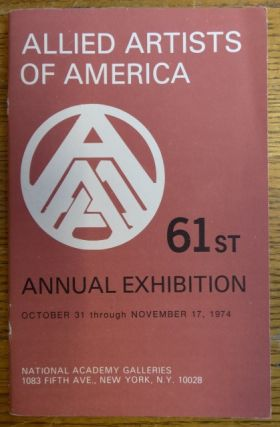 Allied Artists of America, Inc.: 61st Annual Exhibition