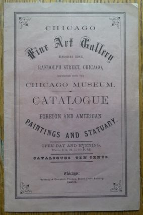Catalogue of the Chicago Fine Art Gallery