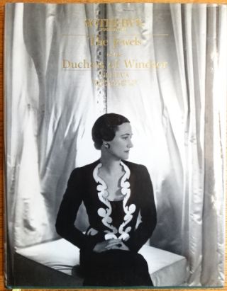 The Jewels of the Late Duchess of Windsor, sold for the benefit of The Pasteur Institute. Sotheby's