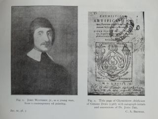 Scientific notes from the books and letters of John Winthrop, jr.(1606-1676), First Governor of Connecticut