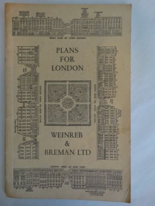 Architecture Catalogue 24: Plans for London. Paul Breman
